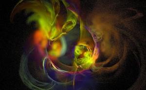 Farblichttherapie abstrakt
